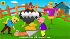 Hickety Pickety My Black Hen | English Nursery Rhymes with Lyrics | Orig...