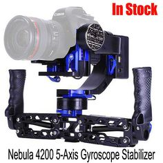 Pre-order Nebula 4200 5-axis Double Handle Gyroscope Stabilizer for 5DRS 5D3 5D2 A7S BMPCC Gimbal