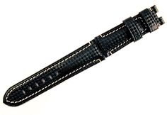 "24/22mm Carbon Fiber ""Panerai"" Style  Deployment Watch Band Strap Item #: PD300 Price/ea: $44.95"