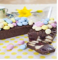 No bake Easter Treat Mini Loaf Pan, Easter Treats, Shortbread, Kitchen Recipes, Chocolate Chip Cookies, Sweet Recipes, Icing, Sweets, Sweet Ideas