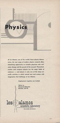 Los Alamos Scientific Laboratory Ad