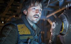 """Diego Luna has been a fan of Star Wars since childhood. So, when he got to see Darth Vader in the flesh for Rogue One: A Star Wars Story, he started """"shaking"""" with fear and excitement."""