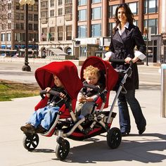 Affordable double stroller