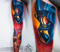 Star Wars tattoo by A.d. Pancho