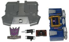 6 Inch Cybertron Heroes Soundwave with Laserbeak (Transformers, Titanium, Decepticon) | Transformerland.com - Collector's Guide Toy Info