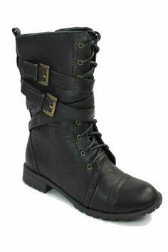 ***Max Footwear Women's Tina Lace-up Military Combat Boots Max Signature http://www.amazon.com/dp/B00J336JJQ/ref=cm_sw_r_pi_dp_1MMMtb1Y5XK5D99S