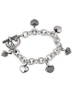 LAGOS Jewelry | Multi-Heart Charm Bracelet
