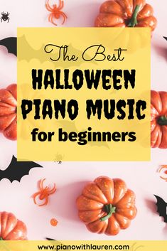 Here is the best list of Halloween piano music for beginners. Beginners love to play Halloween piano music! Music Games For Kids, Music Activities, Easy Piano Sheet Music, Piano Music, Music Wall, Free Piano Lessons, Music Lessons, Halloween Music, Homemade Instruments