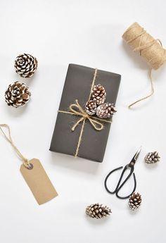 DIY | 5 gift wrap ideas for christmas