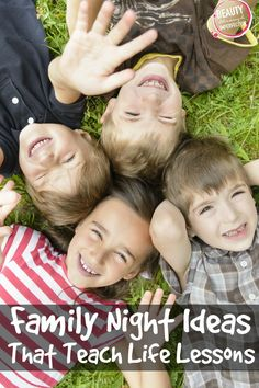 Family Night Activities - That Teach Life Lessons - Beauty Through Imperfection