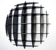 Manfredo Massironi for Nikol. Cupboard Shelves, Cupboards, Joe Colombo, Joinery, Industrial Design, Bookshelves, Mid-century Modern, Chandelier, Woodworking
