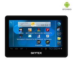 Skytex Skypad Google Android 4.1 OS 1.2GHz 8GB Dual-Camera 4.3' Pocket Tablet at 74% Savings off Retail!