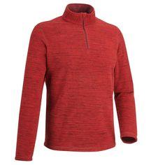 GROUPE 3 Randonnée - Forclaz 50 homme rouge chiné QUECHUA - Randonnée montagne Athletic, Zip, Jackets, Clothes, Fashion, Group, Down Jackets, Outfits, Moda