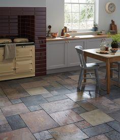 Natural Slate Sheera Modular Tile
