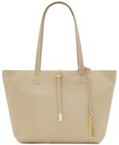 Vince Camuto Leila Small Tote - Tan/Beige