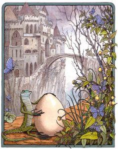 Tomislav Tomic Croatian folk tales 1, 2010. unpublished, coloured inks