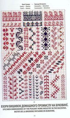 . Cross Stitch Boarders, Modern Cross Stitch, Cross Stitch Flowers, Cross Stitch Patterns, Folk Embroidery, Cross Stitch Embroidery, Embroidery Patterns, Loom Beading, Beading Patterns