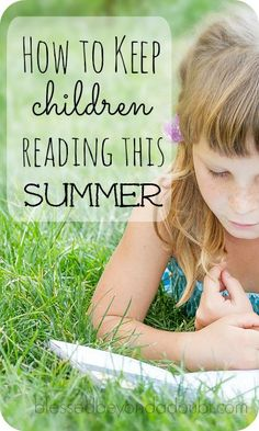This simple tip will encourage your children to read during the summer months.