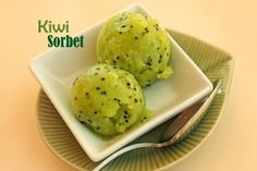 Kiwi Sorbet | Recipes
