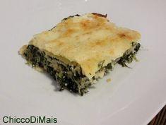 Lasagne ricotta e spinaci ricetta vegetariana il chicco di mais