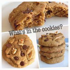 Gluten free vegan chickpea cookies