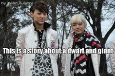Nu'est Minhyun and Ren. Ren honey move over tall guys need tall girls