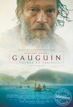 First Poster for Drama-Biopic 'Gauguin: Voyage to Tahiti' - Starring Vincent Cassel Hd Movies, Film Movie, Movies Online, Beau Film, Tahiti, Good Movies To Watch, Great Movies, Period Drama Movies, French Movies