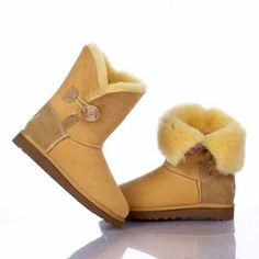 Ugg Boots Bailey Button Light Yellow 5803 Model: Ugg Boots 120 Save: 70% off