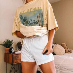 Half Sleeves, Types Of Sleeves, Alphabet, Neutral, Casual T Shirts, Big Shirt Outfits, Oversized Shirt, Aesthetic Clothes, Neck T Shirt