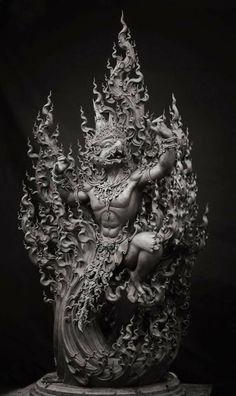 Jennifer Yem's media content and analytics Asian Art, Sculpture Art, Buddhist Art, Fantasy Art, Art, Ancient Art, Shiva Art, Asian Sculptures, Thai Art