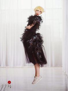 Hannelore Knuts by Arthur Elgort for Elle US June 2014 4