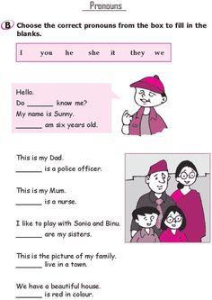 English Grammar For Kids, Teaching English Grammar, English Worksheets For Kids, 2nd Grade Worksheets, English Lessons For Kids, English Reading, Grammar Lessons, English Language Learning, English Vocabulary