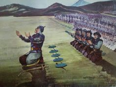 Sultan Alp Arslan and his army, praying before the famous Battle of Malazgirt Military Art, Military History, Turkey History, Turkish Soldiers, Islamic Paintings, Medieval Armor, Historical Art, Ottoman Empire, Islamic Art