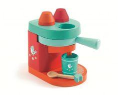 Little Citizens Boutique Djeco Babyccino Wooden Coffee Machine