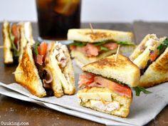 Sándwich Club de pollo | Cocina