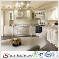 Kitchen Furniture – Page 8 – Gallery – Furniture & Home Decor European Kitchen Cabinets, European Kitchens, Kitchen Cabinet Doors, Kitchen Furniture, Kitchen Interior, Kitchen Dining, Kitchen Decor, Solid Wood Cabinets, Built In Cabinets