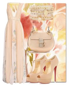 """Untitled #823"" by capm ❤ liked on Polyvore featuring Trademark Fine Art, Christian Louboutin, Chloé and Charlotte Russe"