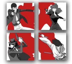 Lupin the third Robot Cartoon, Cartoon Art, Manga Rock, Dylan Dog, Lupin The Third, Good Anime Series, Manga Characters, Anime Figures, Miyazaki