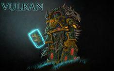 Vulkan, Salamanders Primarch by Shamblin85.deviantart.com on @deviantART