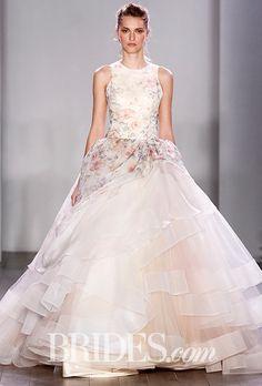 Jabel Jewelry Favorite Wedding Dresses: Lazaro Wedding Dresses - Fall 2016 - Bridal Runway Shows - Brides.com