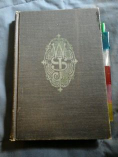 Vintage Masonic Book Ritual of the Order of White Shrine of Jerusalem 1953