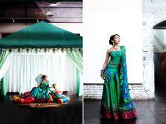 Dream Indian wedding: Reception Attire - Flamboyant Lehenga or Rich designer saree?