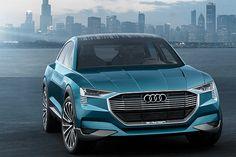 独アウディ、2018年初頭に導入予定のEVスポーツSUV「e-トロン クワトロ コンセプト」 - Car Watch