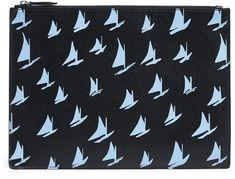 Marni Boat Print Document Holder
