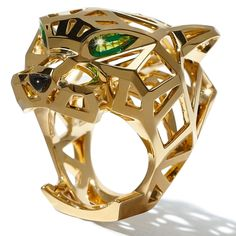 The piece to cover this month...Cartier's panther ring