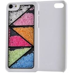 Meaci Apple Iphone 5c Case Glitter Bling Neon Rhinestone Series Protective Case -Geometry(xxv):Amazon:Cell Phones & Accessories