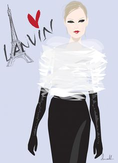 LANVIN - don oehl illustration