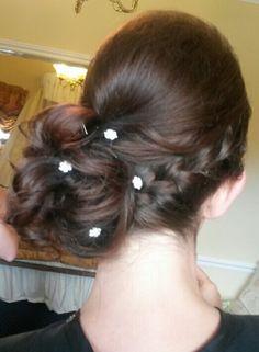 Hair by Sandra Jones #hair #hairup #hairstyle #hairstylist #hairupdo #hairups #plaits #wedding #prom #weddinghair #bridal #bridesmaid