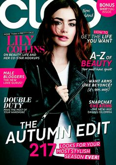 Lily on the cover of Cleo Magazine New Zealand March 2014.