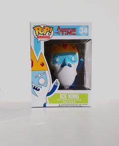 Adventure Time - Ice King Pop Vinyl Figure